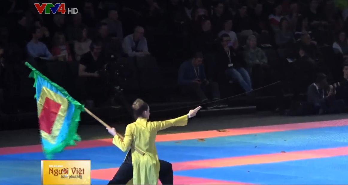 Le Vietnam au 33e Festival international des arts martiaux à Paris