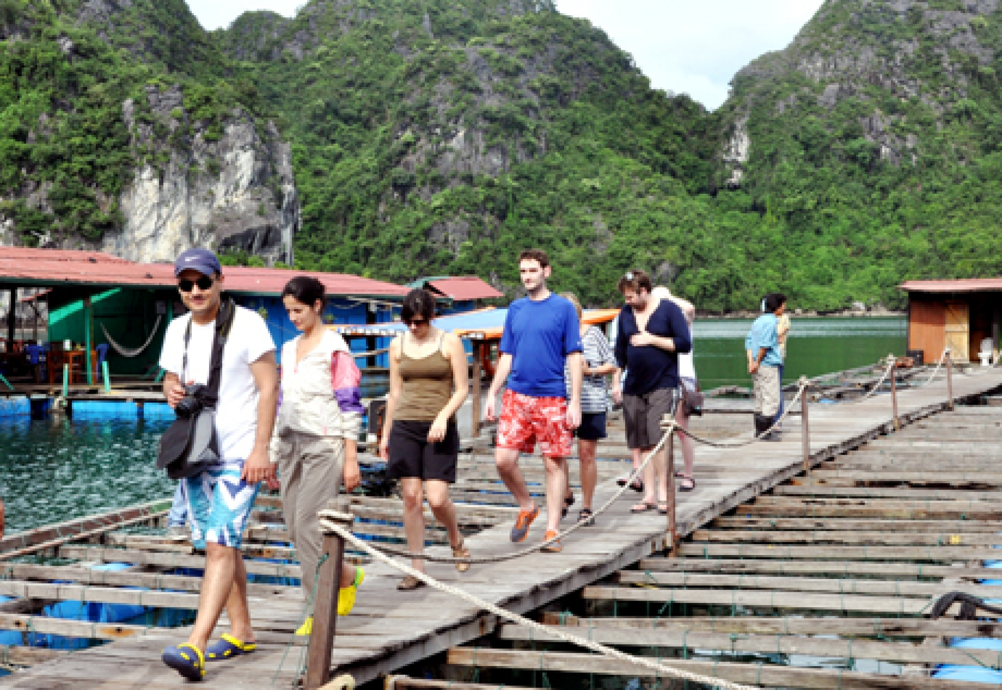 Forte hausse du nombre de touristes à Quang Ninh