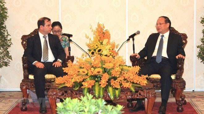 Hô Chi Minh-Ville encourage la collaboration avec les localités cubaines