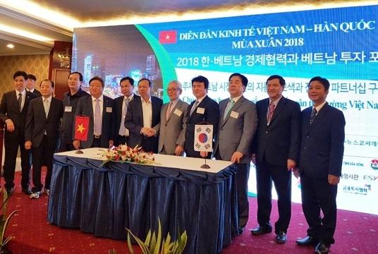 Ouverture du Forum d'entreprises Vietnam - République de Corée à Hô Chi Minh-Ville