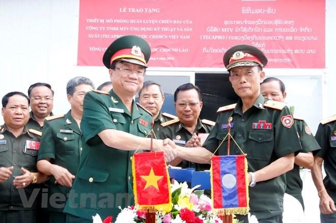 Laos: inauguration d'un centre d'entraînement en simulation construit avec l'aide du Vietnam