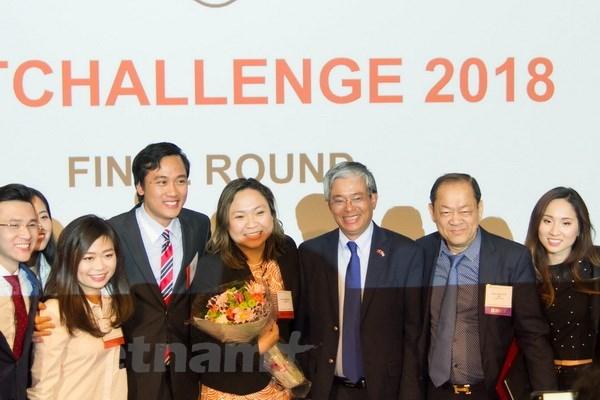 """Le Vietnam soutient des initiatives et l'esprit """"start-up"""" de ses étudiants aux Etats-Unis"""
