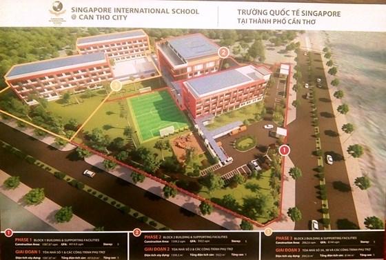 Education: l'Ecole internationale Singapour à Can Tho