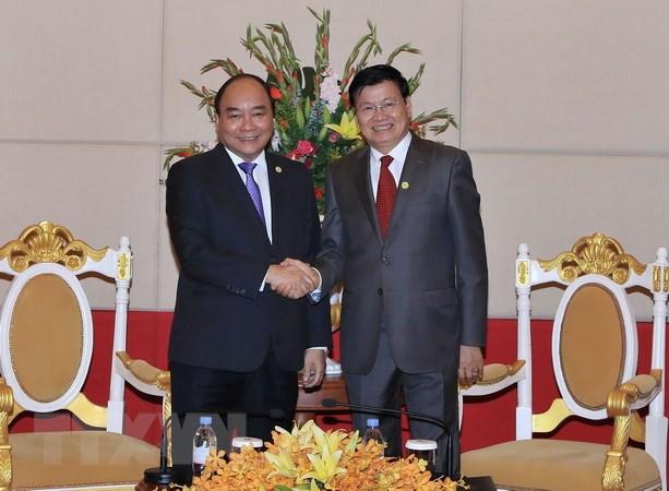 MRC: rencontre entre les Premiers ministres vietnamien et laotien