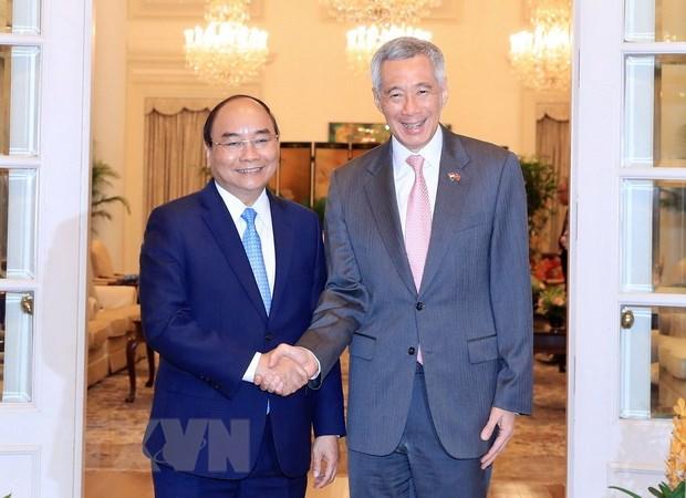 Vietnam - Singapour: Entretien entre les deux chefs du gouvernement