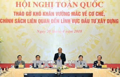 Le chef du gouvernement propose son aide au secteur de la construction