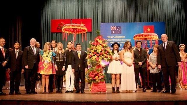 Les 45 ans des liens Vietnam-Australie célébrés à Hô Chi Minh-Ville