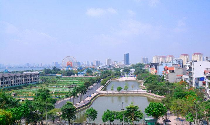 Hanoï: un nouvel espace piétonnier  au lac de l'Ouest