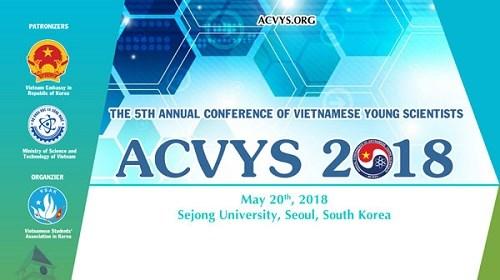 Conférence des jeunes scientifiques vietnamiens en République de Corée