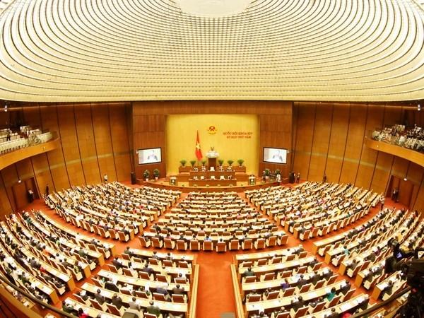 Ouverture de la 5e session de l'AN de la 14e législature à Hanoï