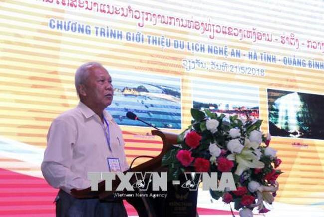 Des provinces du Centre du Vietnam présentent leurs potentiels touristiques au Laos