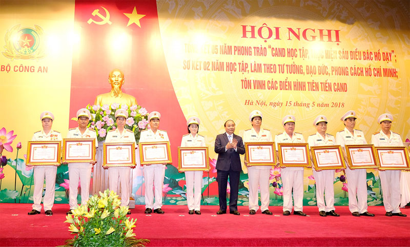 Les six enseignements adressés par l'Oncle Ho est la mission de la Police populaire