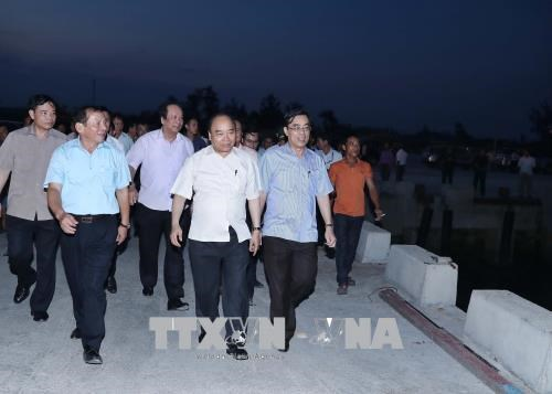 Incident environnemental au Centre: le PM se rend à Thua Thien-Hue et Quang Tri