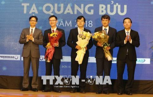 Remise du prix Ta Quang Buu 2018