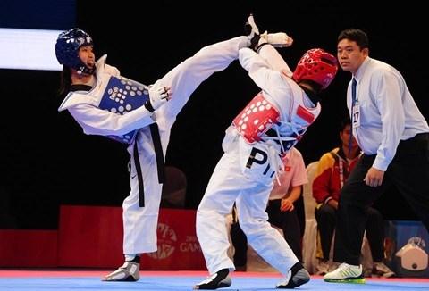 HCM-V se prépare aux tournois de taekwondo