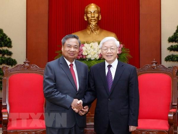 Le secrétaire général du PCV reçoit une délégation du PPRL