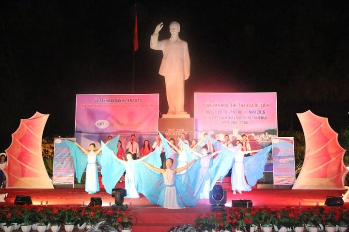 Quang Ninh : Semaine de la culture, des sports  et du tourisme de Cô Tô 2018