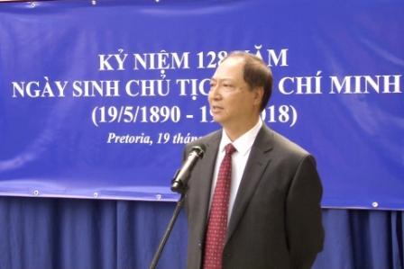 Anniversaire de la naissance du Président Hô Chi Minh : des commémorations à Londres et Pretoria