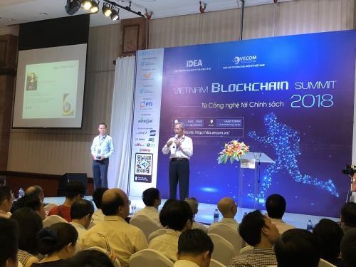 Ouverture du Sommet de la blockchain du Vietnam 2018