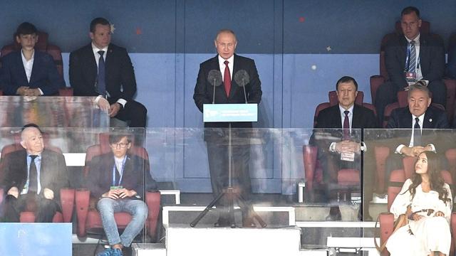 Coupe du monde 2018: Poutine accueille la planète, la Russie soigne son entrée