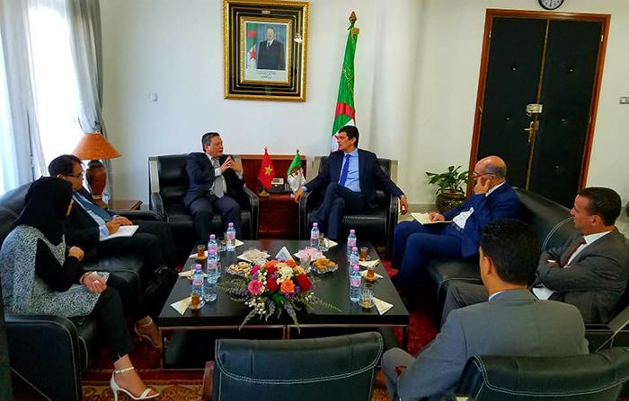 Intensifier la coopération économique avec la wilaya algérienne de Mostaganem