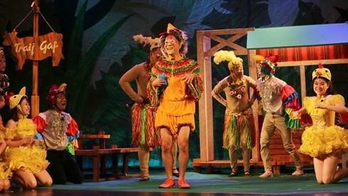 De nouvelles pièces de théâtre pour les enfants Hanoiens pendant l