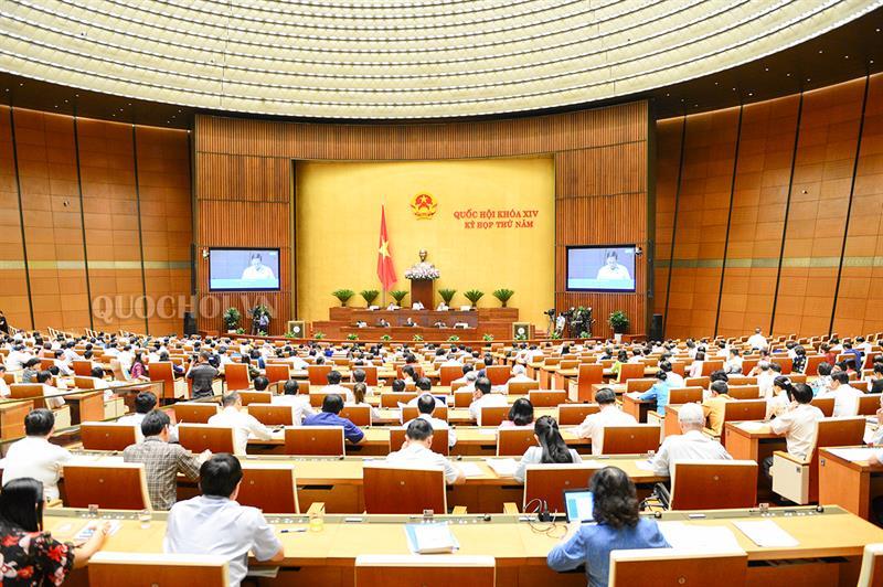 L'Assemblée nationale discute de nombreux projets de loi