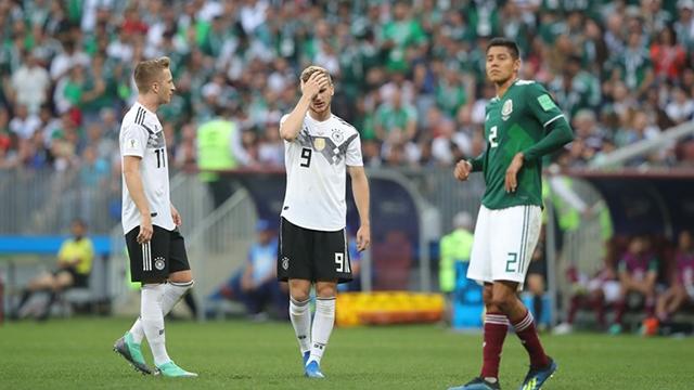 Le Mexique surprend l