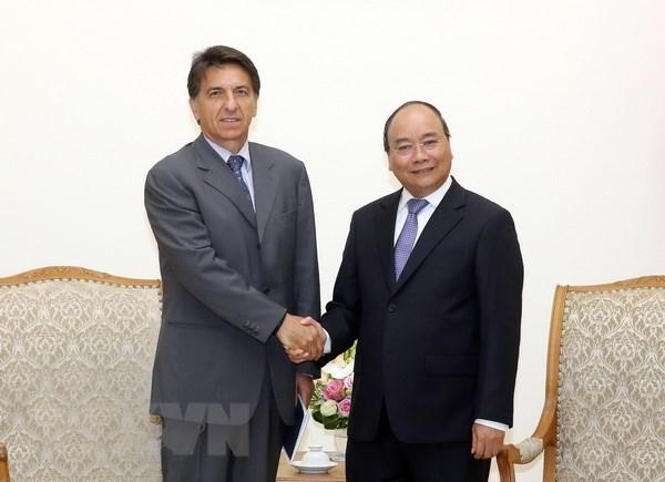 Le PM Nguyen Xuan Phuc reçoit l