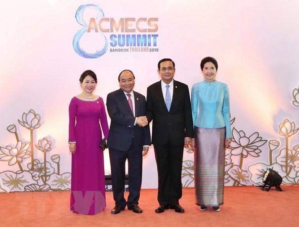 Le PM vietnamien rencontre son homologue thaïlandais en marge du sommet d