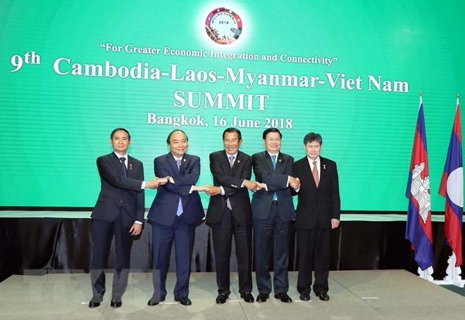 Le Cambodge, le Laos, le Myanmar et le Vietnam réunis en sommet à Bangkok