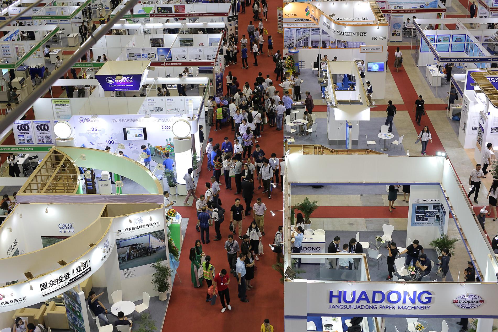 Ouverture de trois expositions internationales à Hô Chi Minh-Ville
