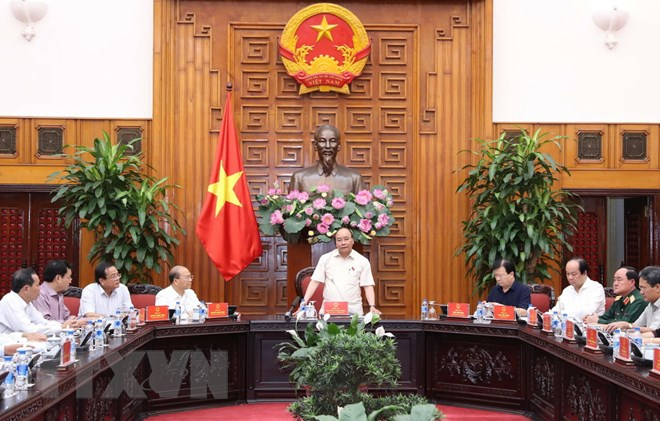 Le Premier ministre demande à Binh Thuân de développer l'industrie et l'agriculture