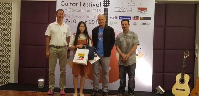 Une élève vietnamienne nommée meilleure guitariste de la région