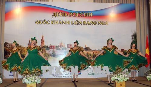 La fête nationale de la Russie célébrée à Hô Chi Minh-Ville