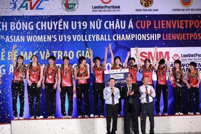Le Japon remporte le tournoi de volley-ball féminin U19 d