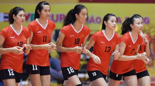 Inauguration du tournoi de volley-ball féminin U19 d