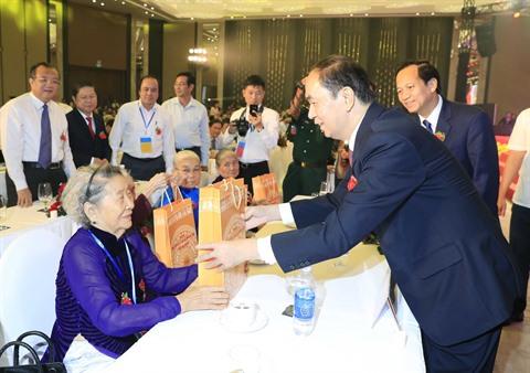 Conférence nationale pour les personnes méritantes à Bà Ria-Vung Tàu