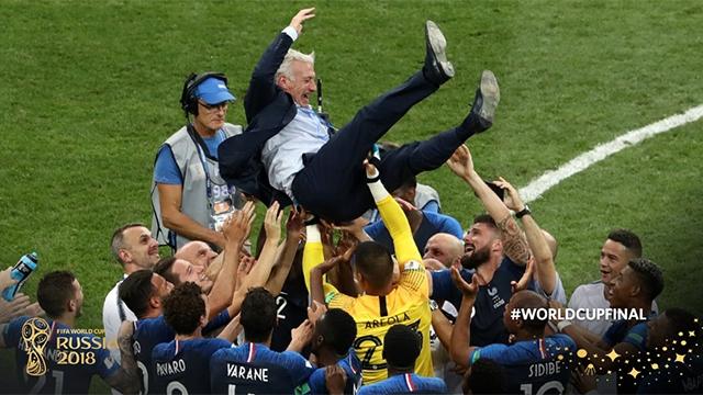 Les Bleus champions du monde !