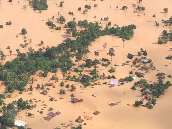 La rupture d'un barrage au Laos a peu d'impact pour le delta du Mékong