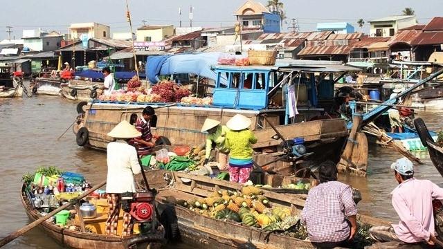 Cân Tho : Ouverture de la Fête touristique et culturelle du marché flottant de Cai Rang