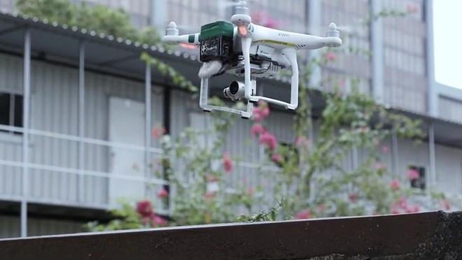 Singapour utilisera des drones pour l