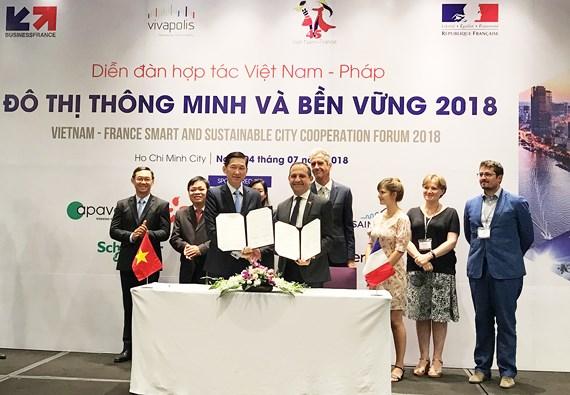 Forum de coopération Vietnam-France sur la zone urbaine intelligente et durable