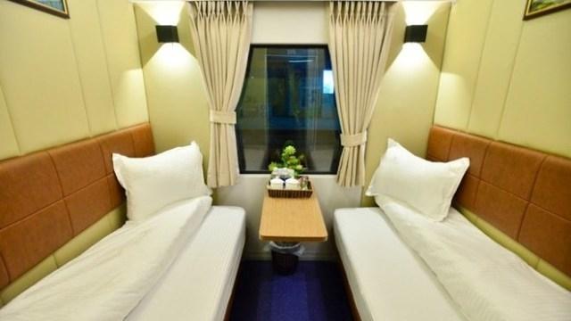 Des cabines de luxe à 2 lits sur des trains de haute qualité entre Hanoi-HCM-Ville