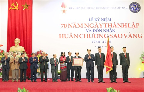 L'Union des associations des lettres et des arts du Vietnam fête ses 70 ans