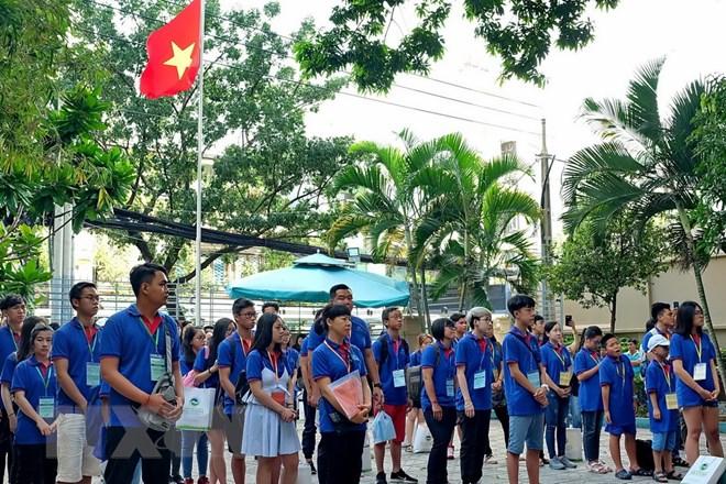 HCM-V: Ouverture du Camp d'été des jeunes Viêt kiêu