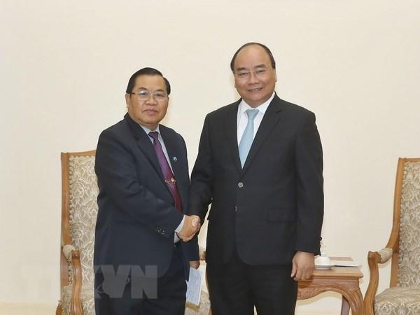 Le Premier ministre reçoit le vice-président de l'AN du Laos