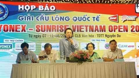 Badminton: Tournoi international Yonex - Sunrise Vietnam Open 2018