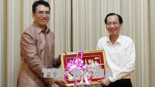 Ho Chi Minh-Ville renforce sa coopération scientifique et technologique avec le Laos
