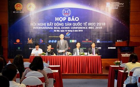 La conférence internationale sur l'immobilier - IREC 2018 se tiendra au Vietnam